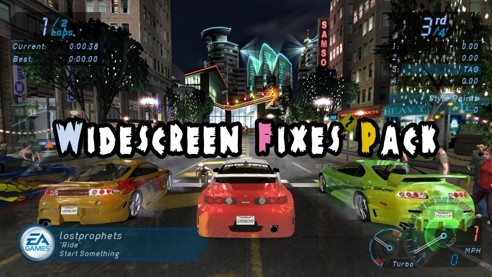 Widescreen Fixes Pack - plugins to make or improve widescreen